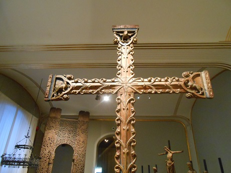 Norway Stave church cross