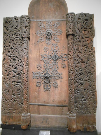 Norway Stave church door 1