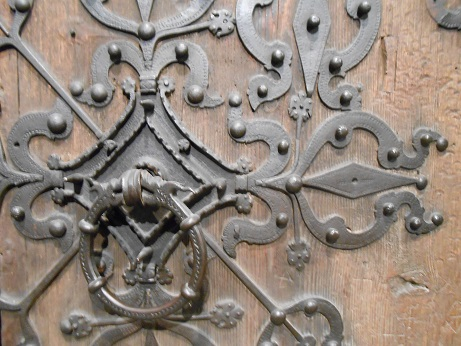 Norway Stave church door 2