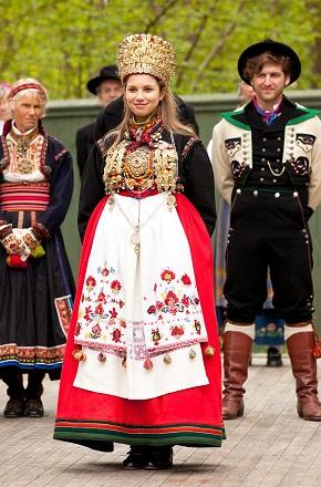 Norway Telemark Bridal Crown -small
