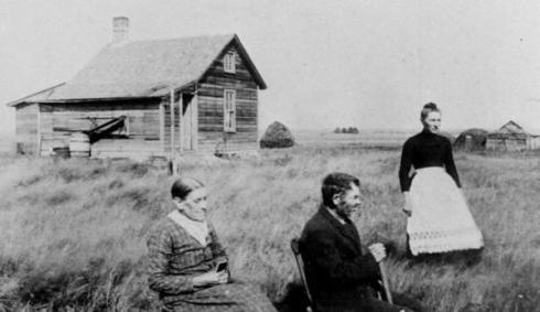 Norwegian immigrants house