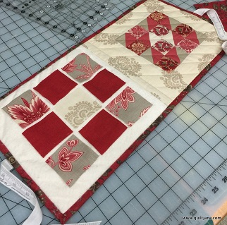 Splendid sampler block case - interior