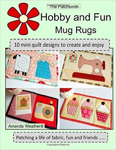 Patchsmith hobby mug rugs book