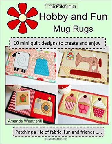 Patchsmith hobby mug rugs book