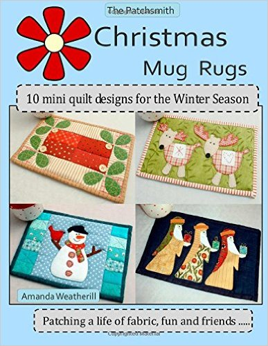 Patchsmith Xmas mug rugs book