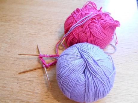 Sarah's knit along 1