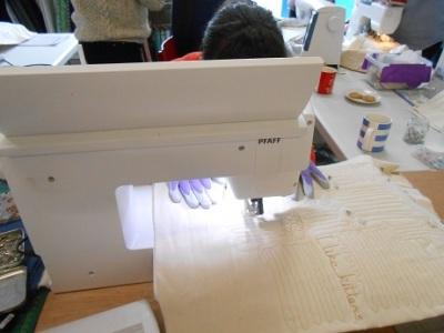 Machine quilting course 2