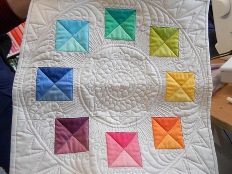 Machine quilting course 5