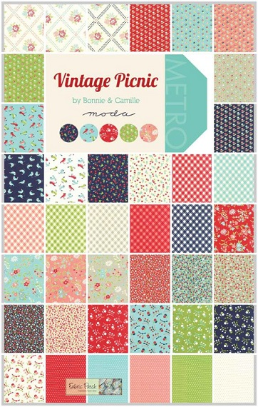 Moda Vintage Picnic all colours
