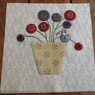Splendid sampler Block 4 - Nantje Cook