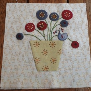 Splendid sampler Block 4 - Nantje Cook