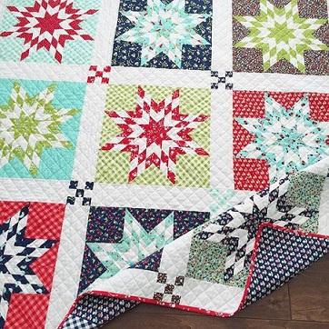 Vintage picnic quilt pattern 1