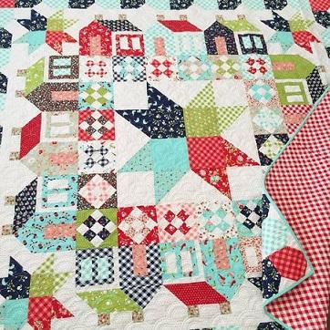 Vintage picnic quilt pattern 2 Summerville