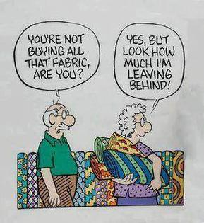 fabric buying joke