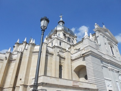 Madrid cathedral exterior 1