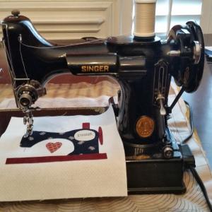 Sewing machine block 1