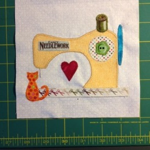 Sewing machine block 2