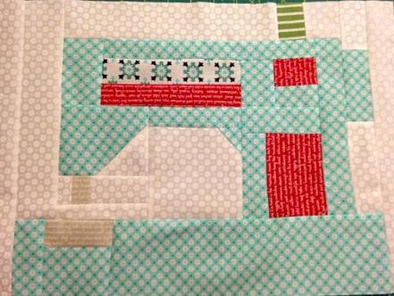 Snapshots sewing machine - Flicker  Stamperville small