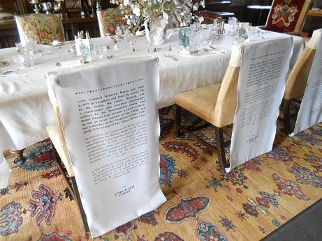 Coughton - textile interpretation 1