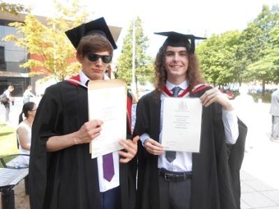 Jake's graduation 4