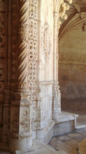 Lisbon - cloisters 2