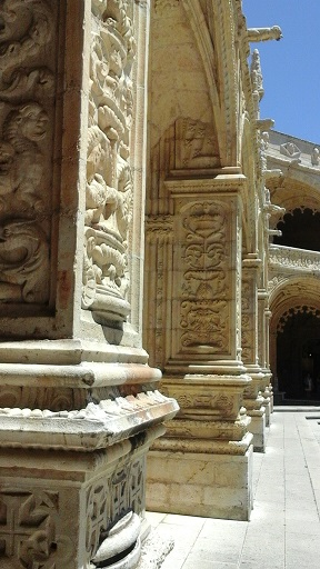 Lisbon - cloisters 4