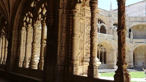 Lisbon - cloisters 5