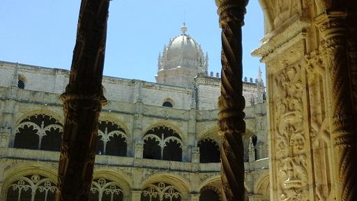 Lisbon - cloisters 6