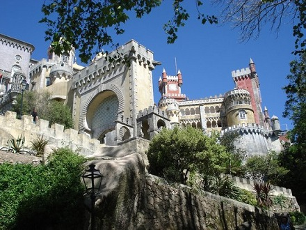 Lisbon pena-national-palace 1