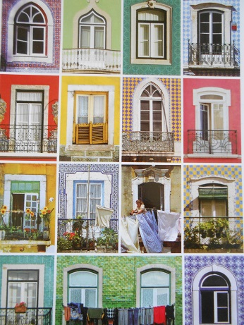 Lisbon  - tile postcards 6