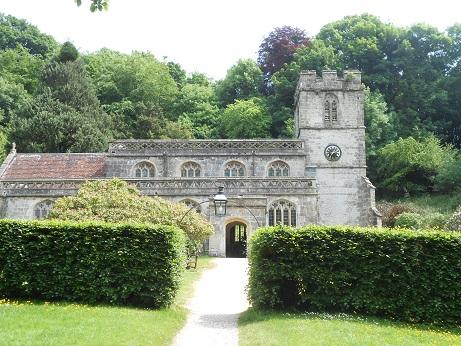 Stourhead 10 church