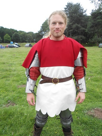 Tatton - Jamie's new tabard 2