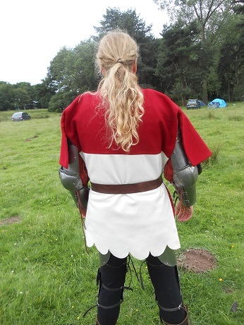 Tatton - Jamie's new tabard 3