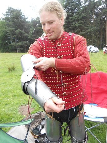 Tatton - Jamie's new tabard