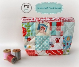 Charise zipper pouch -small