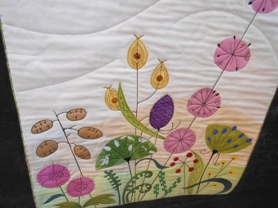 Quilt Festival Hilary Gooding Hedgerows 1