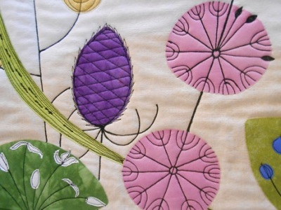 Quilt Festival Hilary Gooding Hedgerows 2