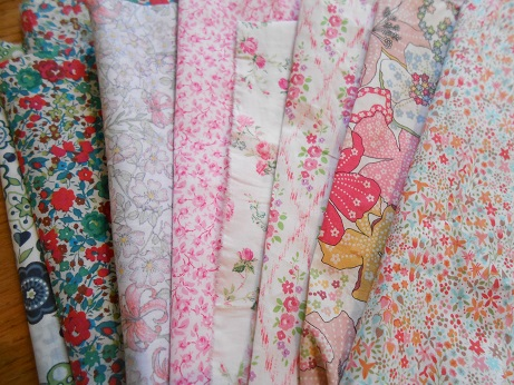 Quilt Festival Liberty fabric