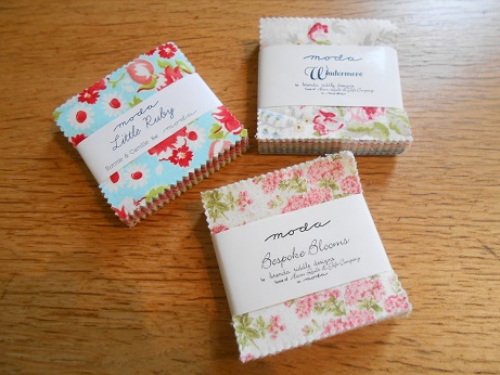 Quilt Festival mini charm packs