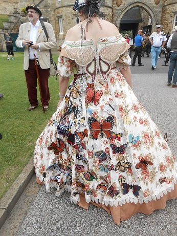 Steam Punk 2016 Butterfly dress 2