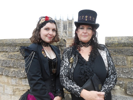 Steam Punk 2016 Ellie and me