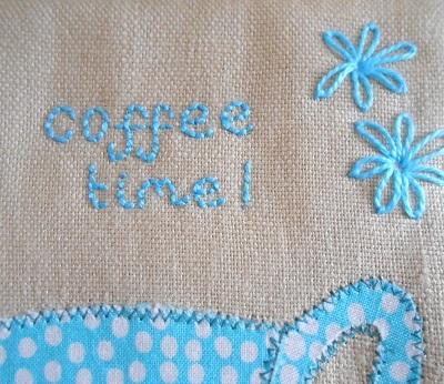 Coffee mug rug 3