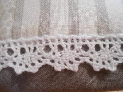 Grey linen pouch 3
