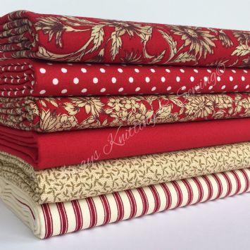 Red fabrics - wish list