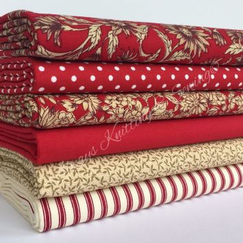 Red fabrics - wish list