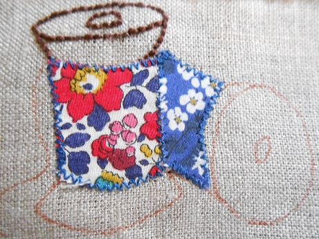 Sew Ilustrated spool pouch 4