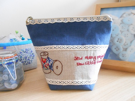Sew Ilustrated spool pouch 5