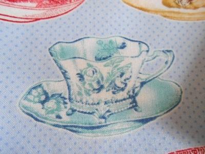 Tea cup theme fabric 3 - Copy