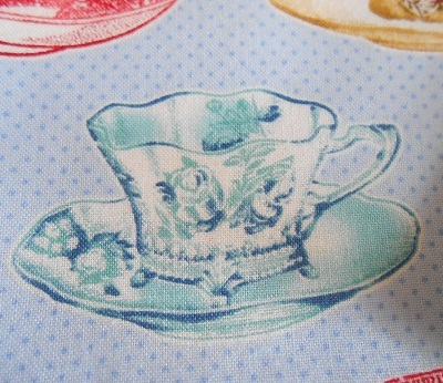 Tea cup theme fabric 3 - Copy