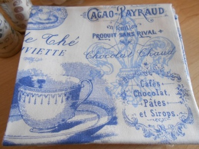 Tea cup theme fabric 6